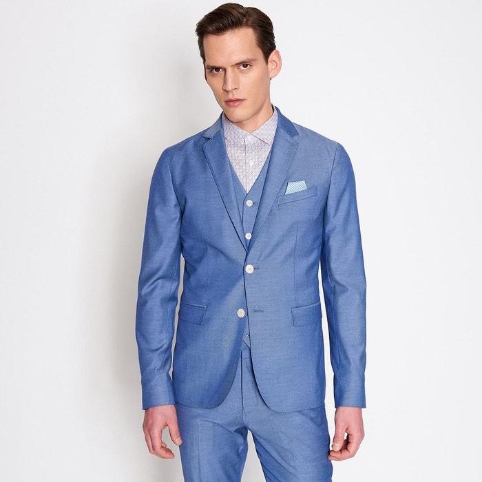 ac86bbcae34f3 Veste de costume bleu homme bleu ciel Devred   La Redoute