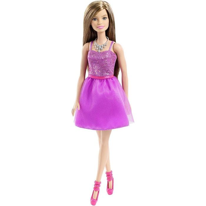 Barbie collection robe violette