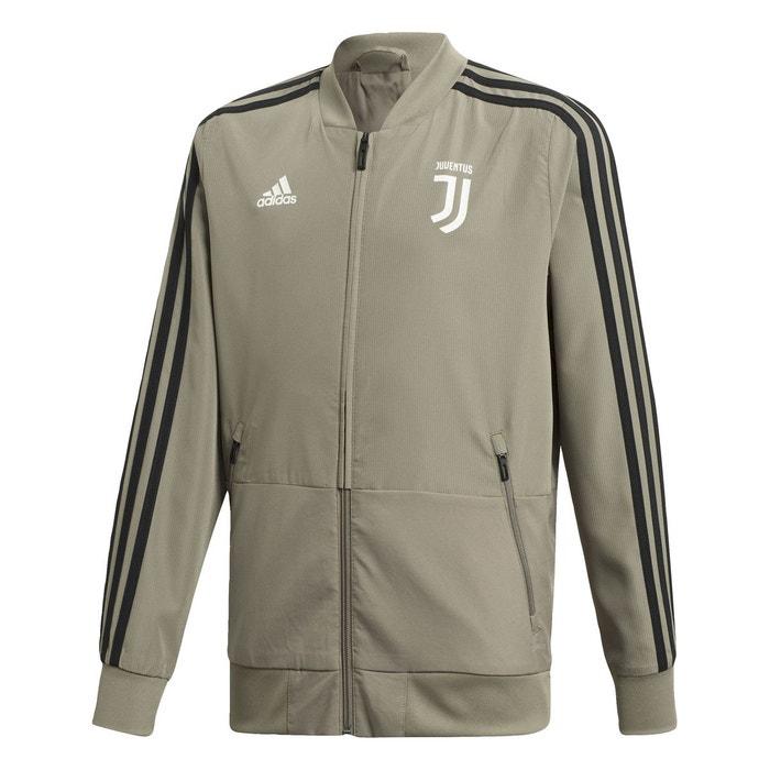 Veste Juventus Adidas Foot Juve saison 2017 2018 blanche
