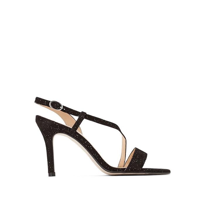 Sandales cuir noir Jonak