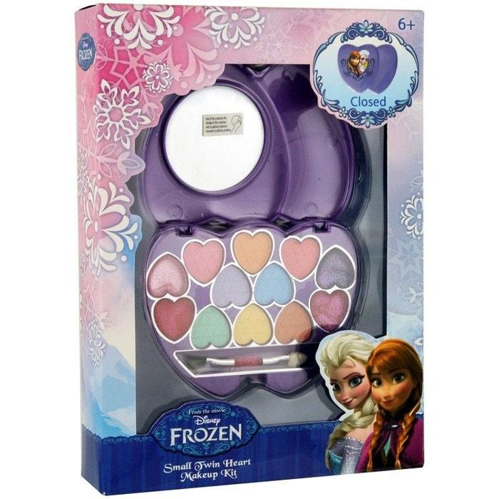 La Reine Des Neiges Coffret Cadeau Enfant Palette De Maquillage Cœur