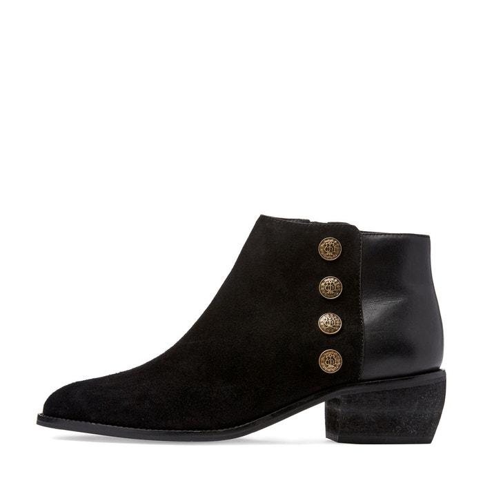 La Redoute Collections Boots cuir Panella Finishline Réel Pas Cher Achat De Réduction Livraison Gratuite Recommander Livraison Gratuite Exclusive tSUeviNa0