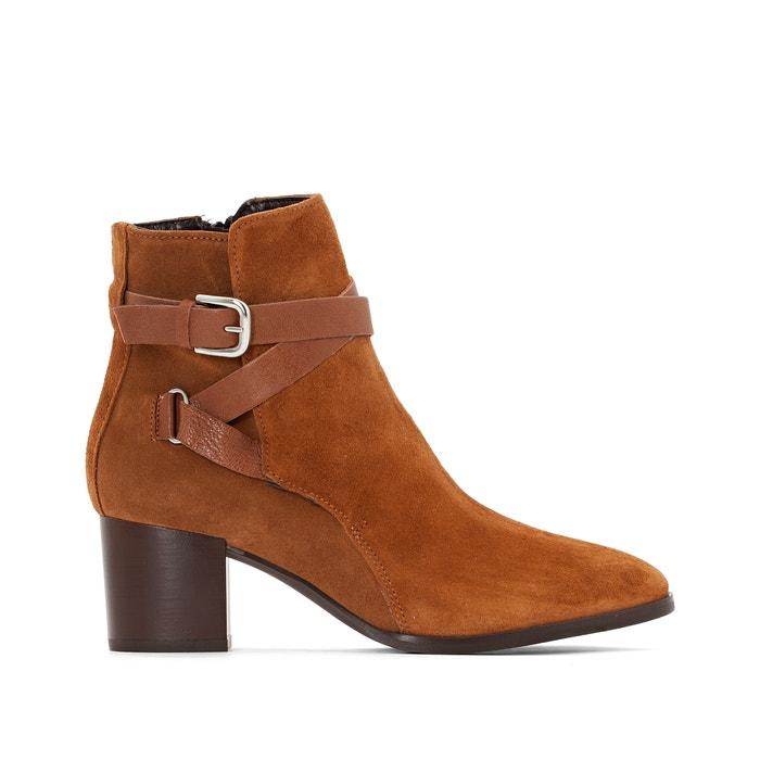 Image Boots cuir à talon Maddie JONAK