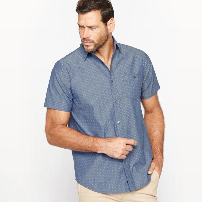 Imagen de Camisa de chambray jacquard CASTALUNA FOR MEN