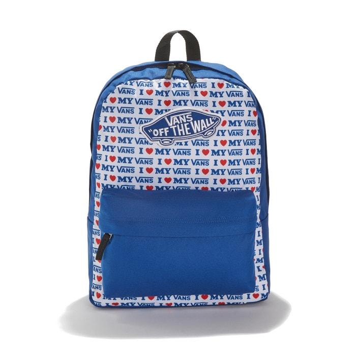5783ed5ca2e Rugzak realm backpack blauw Vans | La Redoute
