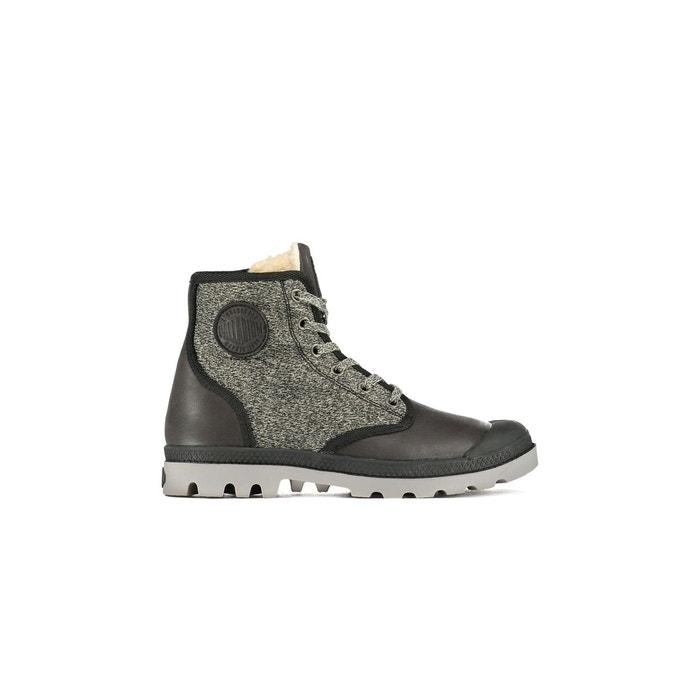 EVITA Boots Fourrees Palladium Pampa Hi Tct Noir Femme Vente Footaction dWDCjRVs
