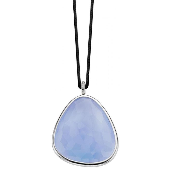 Collier et pendentif femme 6724la bleu Ti Sento | La Redoute professionnel Vente Pas Cher Grand Escompte T4PcJ4XHGf