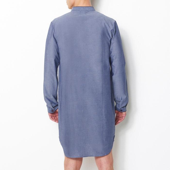 rayas La Pijama de Redoute tipo a popelina camisa larga Collections zqArawz