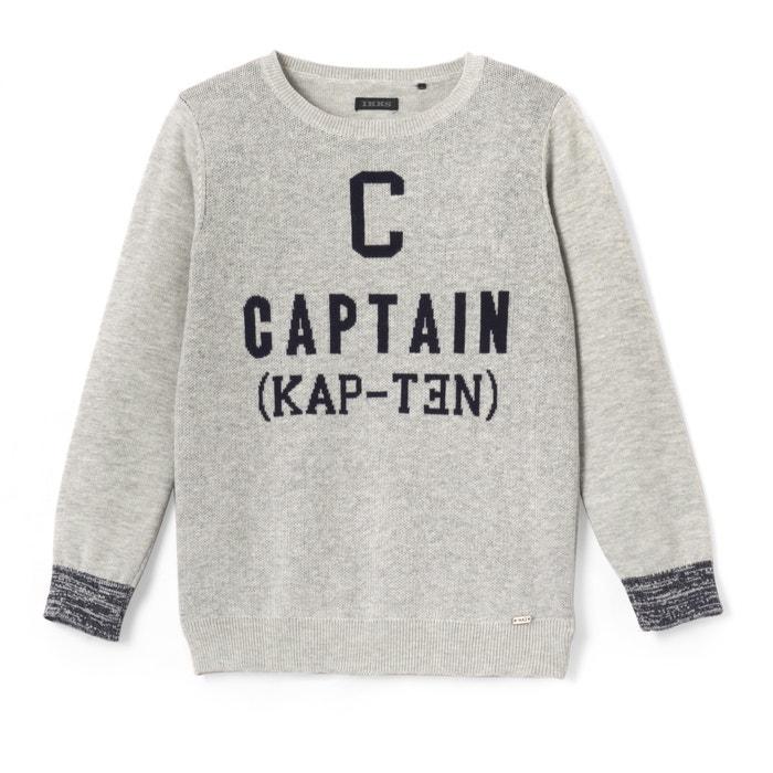 Captain Fine Knit Jumper, 3-14 Years  IKKS JUNIOR image 0