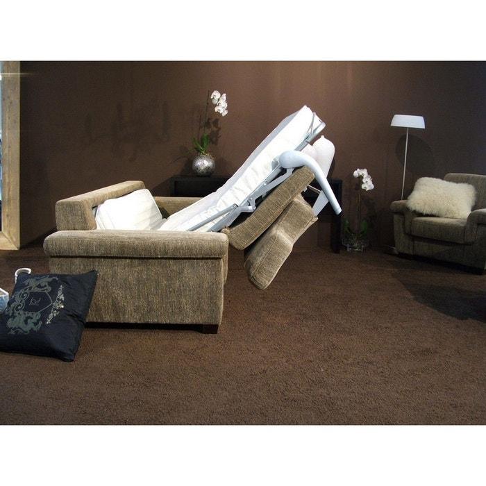 canap convertible 160 cm en tissu fitforme couchage quotidien bronze seanroyale la redoute. Black Bedroom Furniture Sets. Home Design Ideas