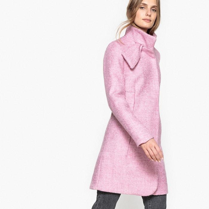 Manteau cintr col couture parme mademoiselle r la redoute - Cintre vetement bebe ...