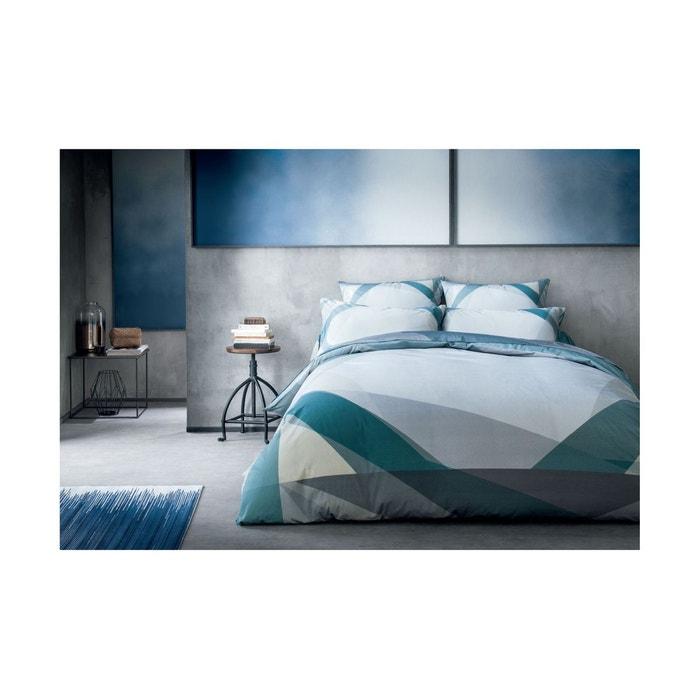 housse de couette optic bleu bleu anne de solene la redoute. Black Bedroom Furniture Sets. Home Design Ideas