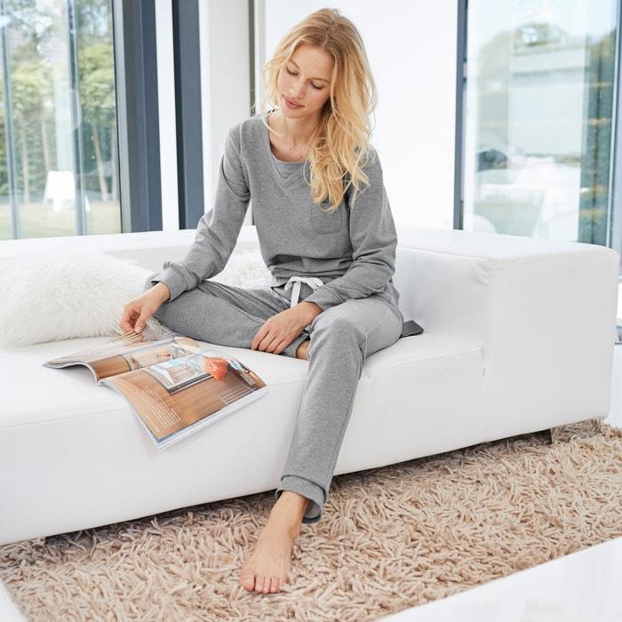 afbeelding 2-delige pyjama met lange mouwen La Redoute Collections