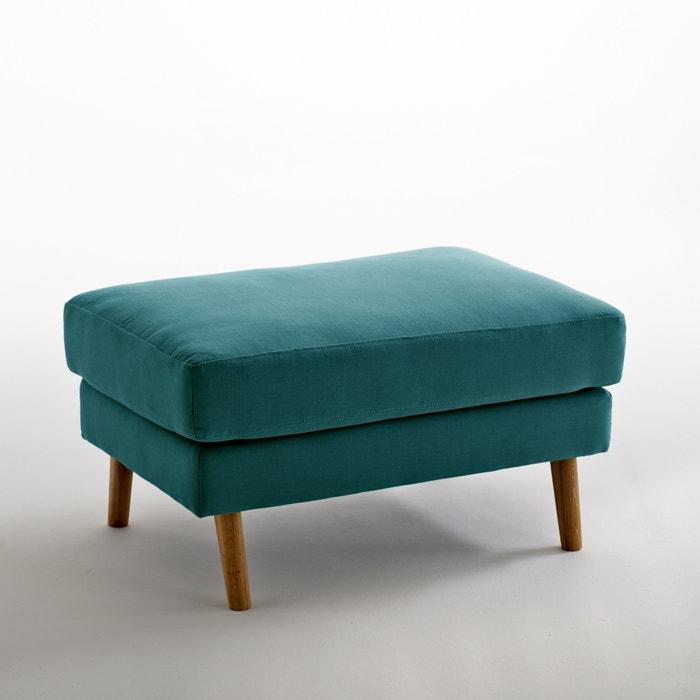 Image Pouf coton et lin Stockholm, confort Excellence La Redoute Interieurs