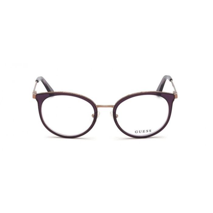 Gu Lunettes Guess Pour Femme 5119 Violet De 2707 083 Vue n0NyOPmv8w