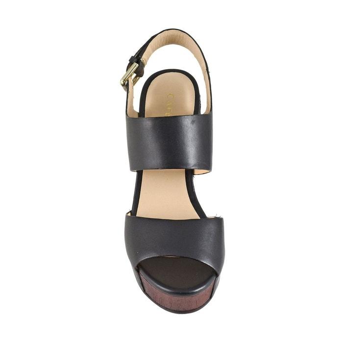 Sandales compensées hd122 noir Cafenoir