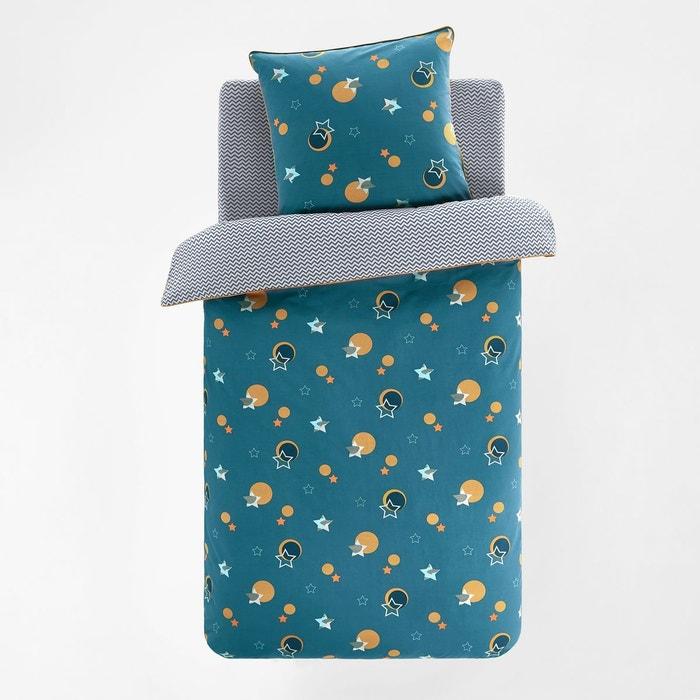 Housse de couette enfant coton stellar imprim bleu la - La redoute housse couette enfant ...