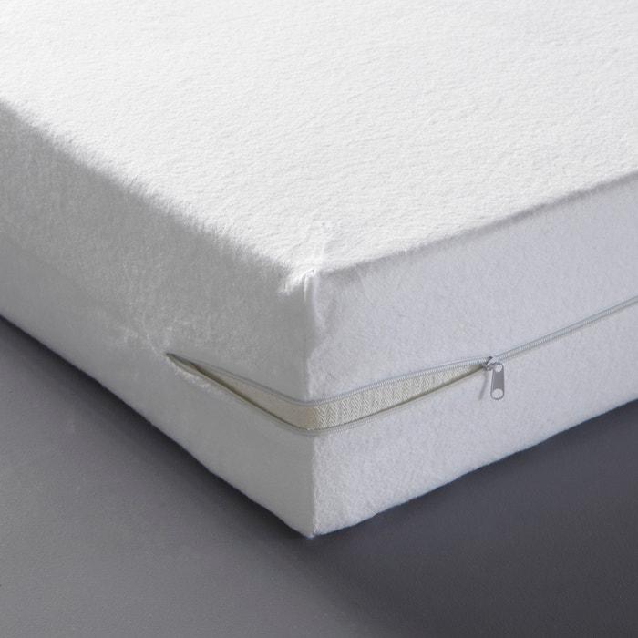 Housse matelas intégrale double face Reverie blanc  La