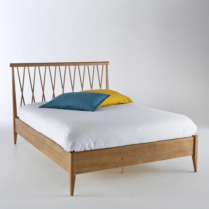 afbeelding Bed + lattenbodem Quilda La Redoute Interieurs