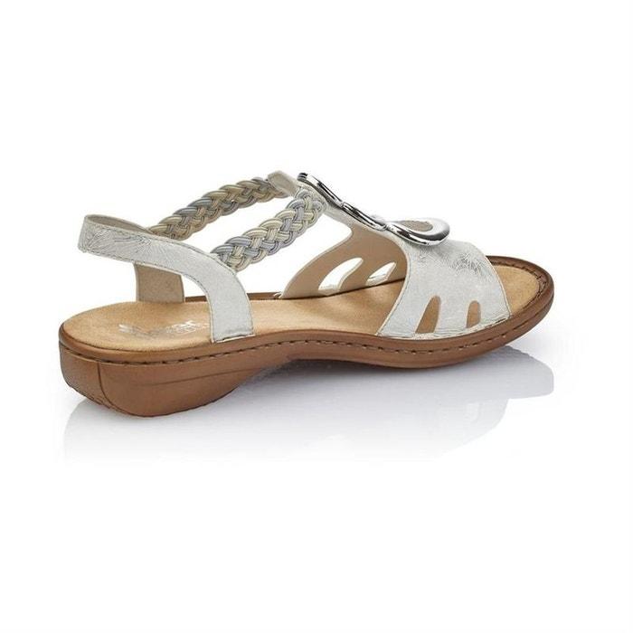e87684bdf78102 Sandales / nu-pieds synthetique blanc Rieker | La Redoute