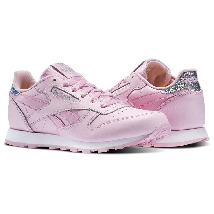 Baskets femme classic leather pastel rose Reebok Acheter Pas Cher Footlocker Bon Marché À Vendre aBcjei
