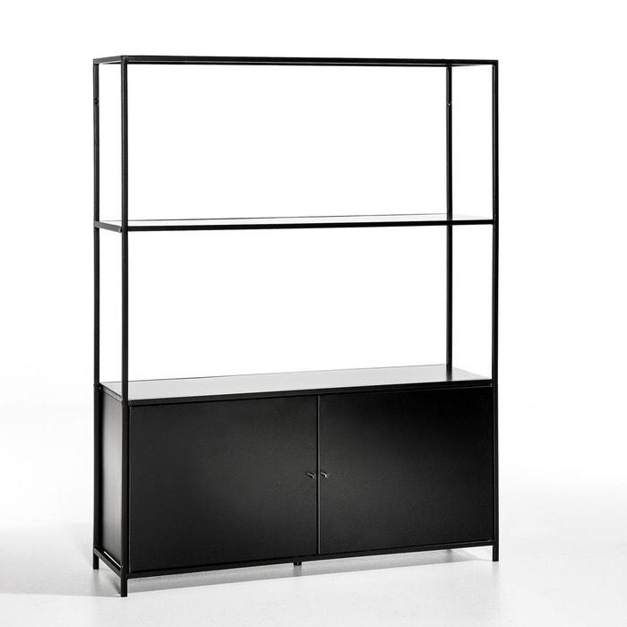 etag re basse m tal romy caisson en bas noir am pm la redoute. Black Bedroom Furniture Sets. Home Design Ideas