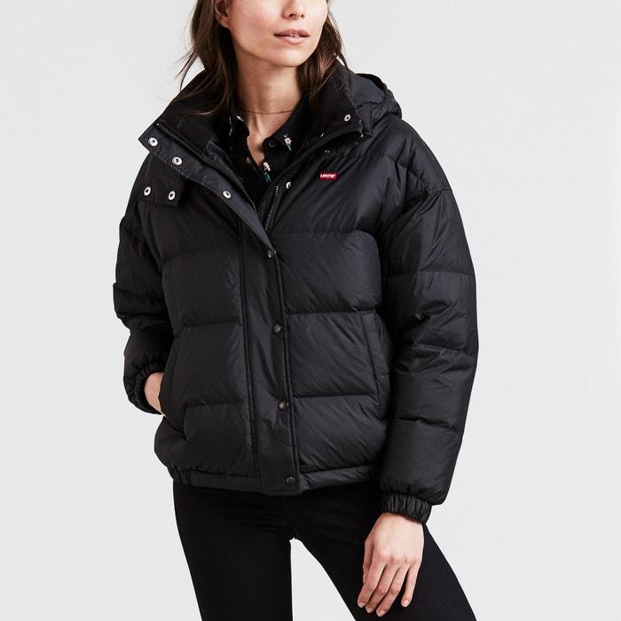Anya puffer short padded jacket , caviar, Levi's | La Redoute