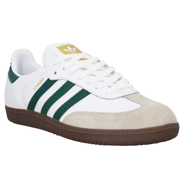 Chaussures Adidas Samba blanches Urbaines femme 4ZMXCoD