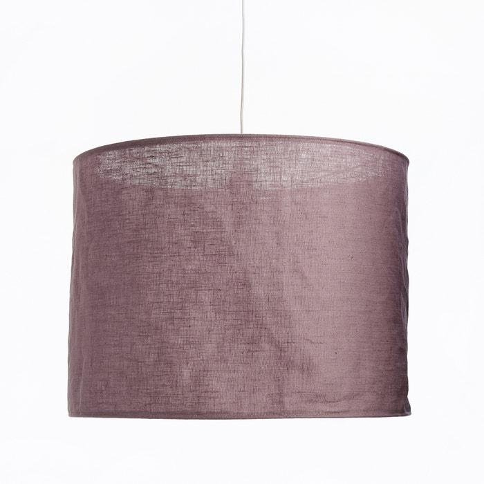 afbeelding Hanglamp in gekreukt linnen THADE La Redoute Interieurs