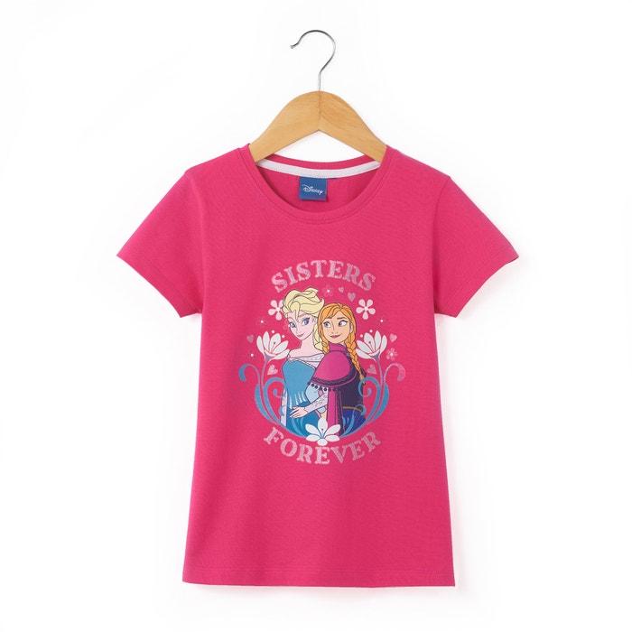 afbeelding Bedrukt T-shirt LA REINE DES NEIGES