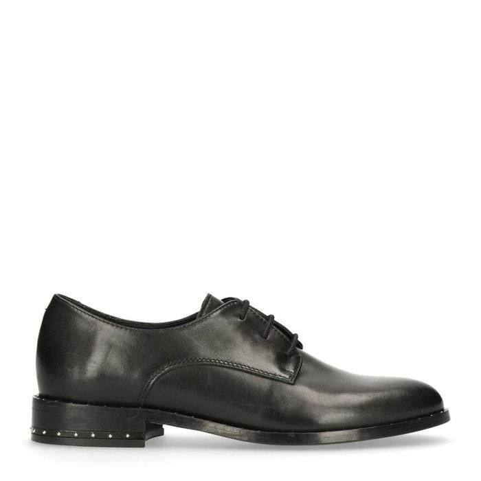 Chaussures à lacets en cuir avec clous noir Sacha Meilleur Jeu De Gros ROOBQM