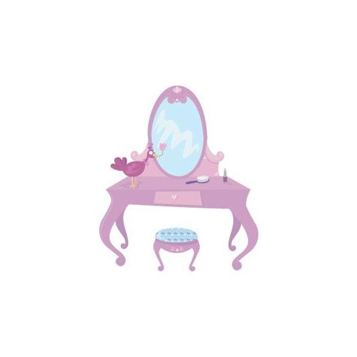 sticker fille coiffeuse de princesse multicolore decoloopio la redoute. Black Bedroom Furniture Sets. Home Design Ideas