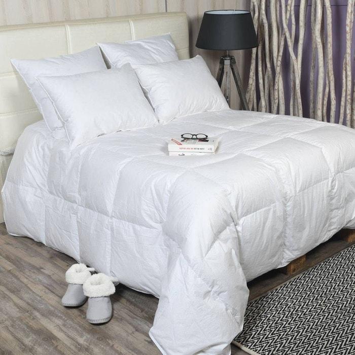 couette naturelle 90 duvet canard neuf 10 plumette ultra l g re 120gr m cortina blanc sensei. Black Bedroom Furniture Sets. Home Design Ideas