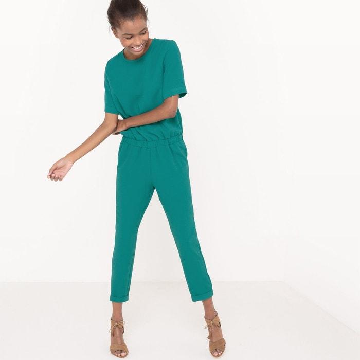 combinaison pantalon vert la redoute collections la redoute. Black Bedroom Furniture Sets. Home Design Ideas