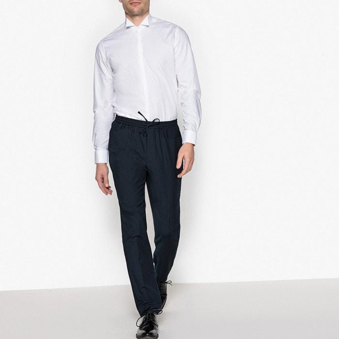 La Redoute Camisa esmoquin slim Collections cuello 66frwq