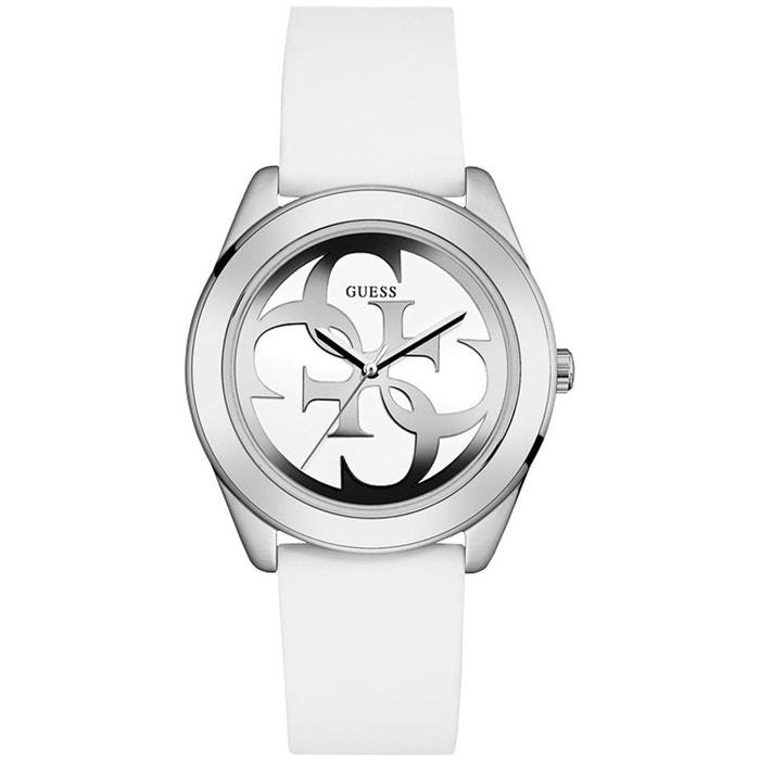 Montre en silicone blanc blanc Guess | La Redoute Livraison Gratuite Profiter cth6dap90Y