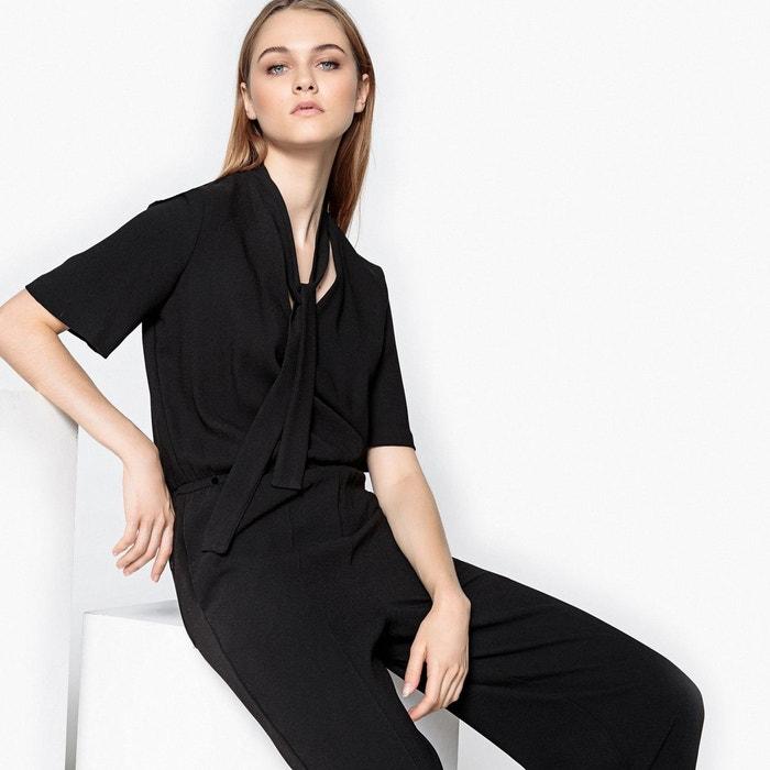 Combinaison pantalon, col à nouer  La Redoute Collections image 0