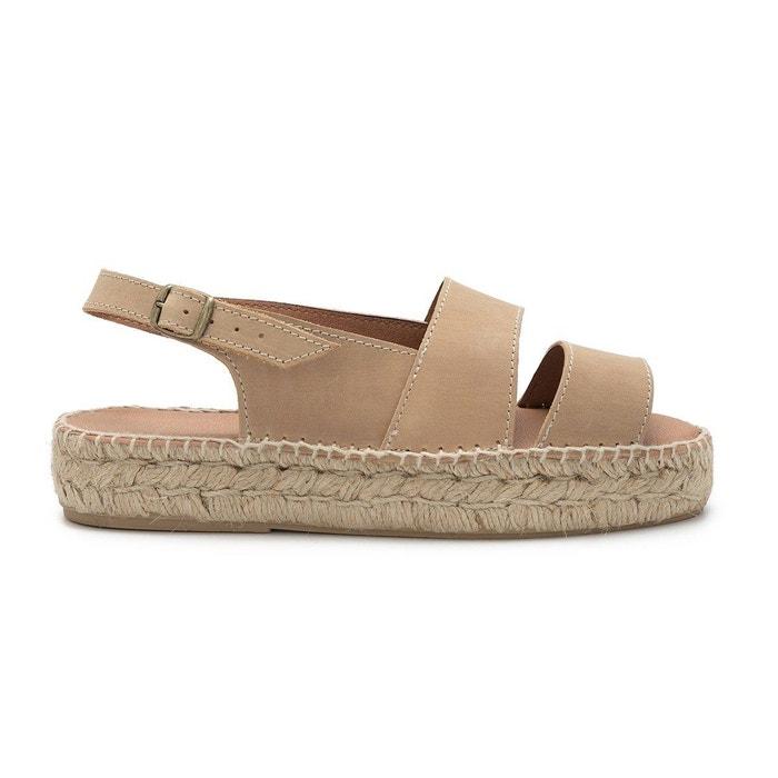 Sandale carlota beige Polka Shoes Sortie D'usine Vente Pas Cher Marchand Acheter Pas Cher 100% D'origine De La France En Ligne Achats En Ligne D'origine MpEkY7g2e