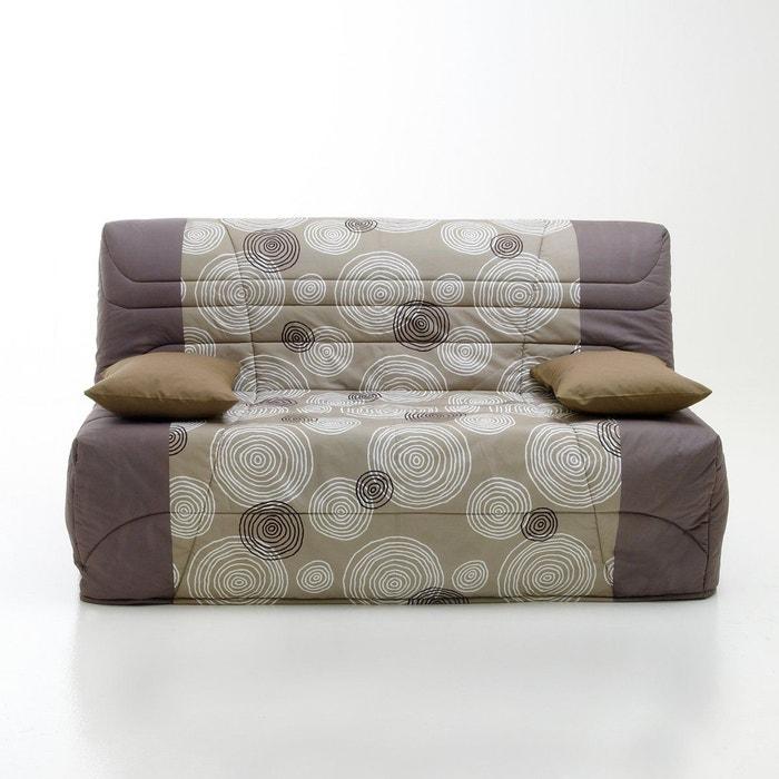 housse couette bz matelas 9 cm 250g m2 imprim cercles la redoute interieurs la redoute. Black Bedroom Furniture Sets. Home Design Ideas