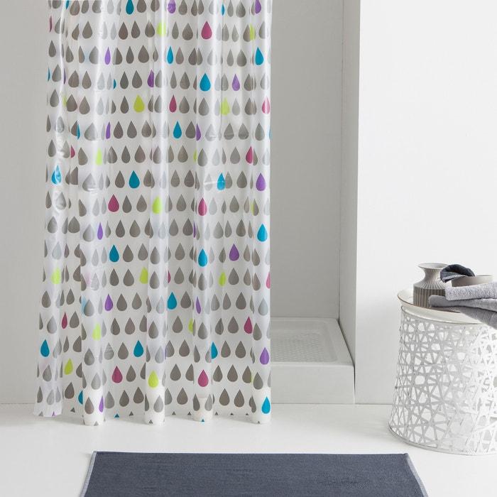 Rideau de douche multicolore drop la redoute interieurs for Rideau douche la redoute