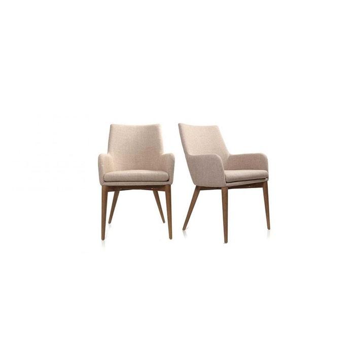 Fauteuil design shana fauteuil miliboo la redoute for La redoute fauteuil cabriolet