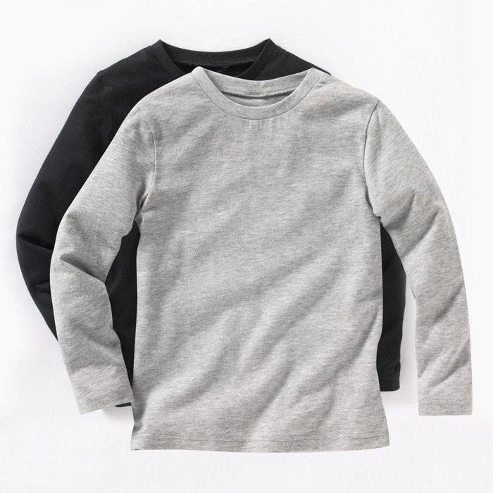 Confezione da 2 T-shirt da 3 a 12 anni  La Redoute Collections image 0