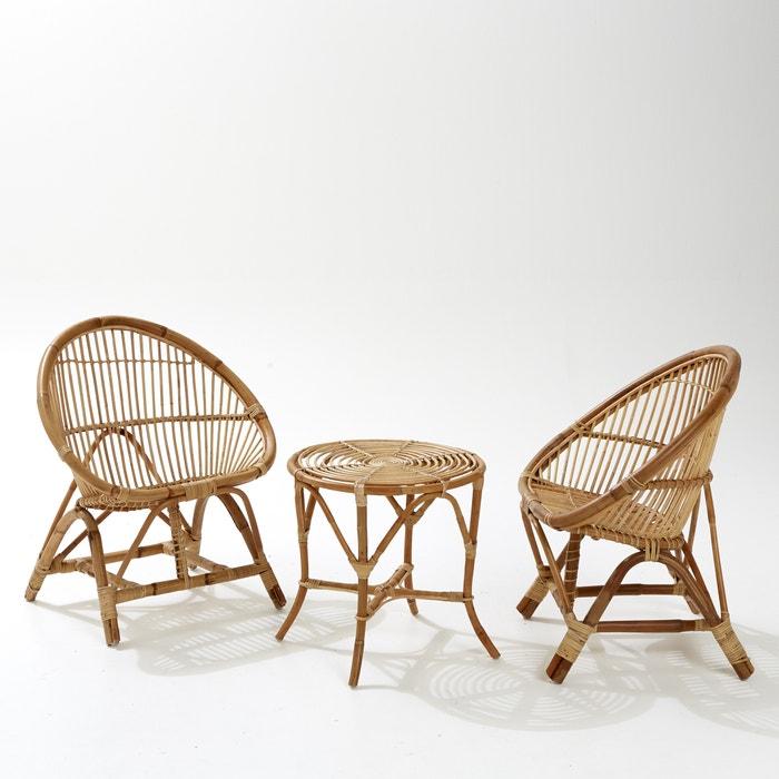 Salon de jardin malu la redoute interieurs naturel la redoute - La redoute meubles de jardin ...