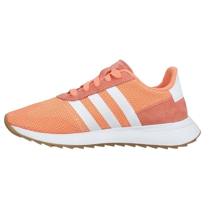 Baskets femme adidas flb runner toile femme corail Adidas