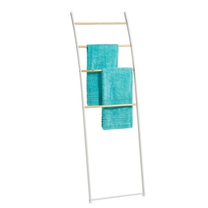 echelle porte serviettes s choir blanc versa la redoute. Black Bedroom Furniture Sets. Home Design Ideas