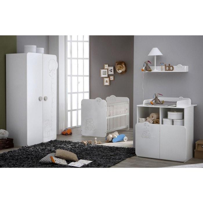 Chambre bb la redoute good armoire vestiaire amricain for Chambre bb modulable