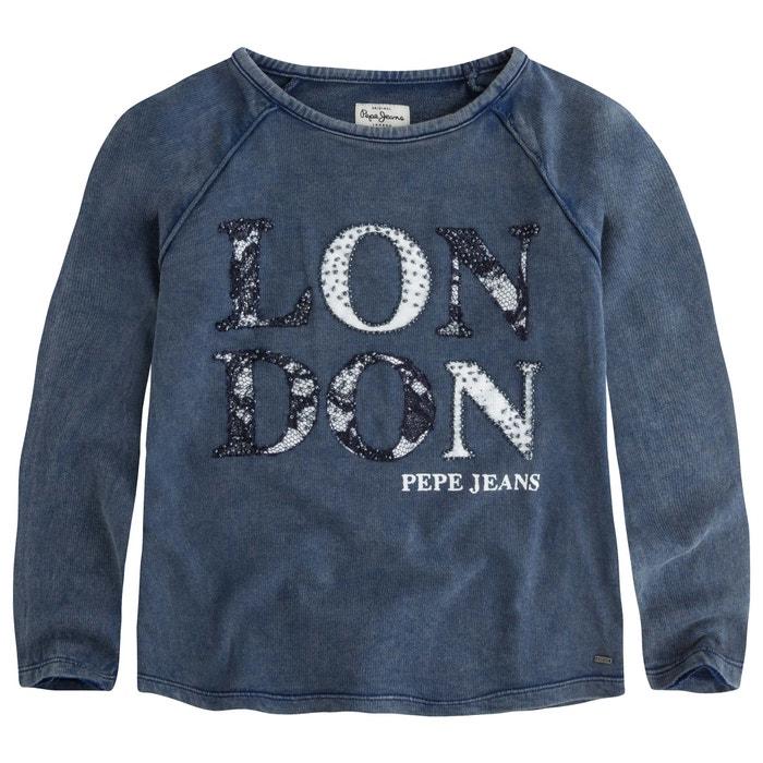 afbeelding Sweater met used effect 8-16 jr PEPE JEANS