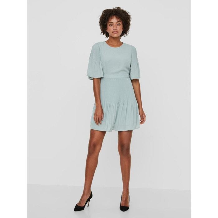 Robe à manches courtes féminine jadeite Vero Moda  c1496ff1fd5