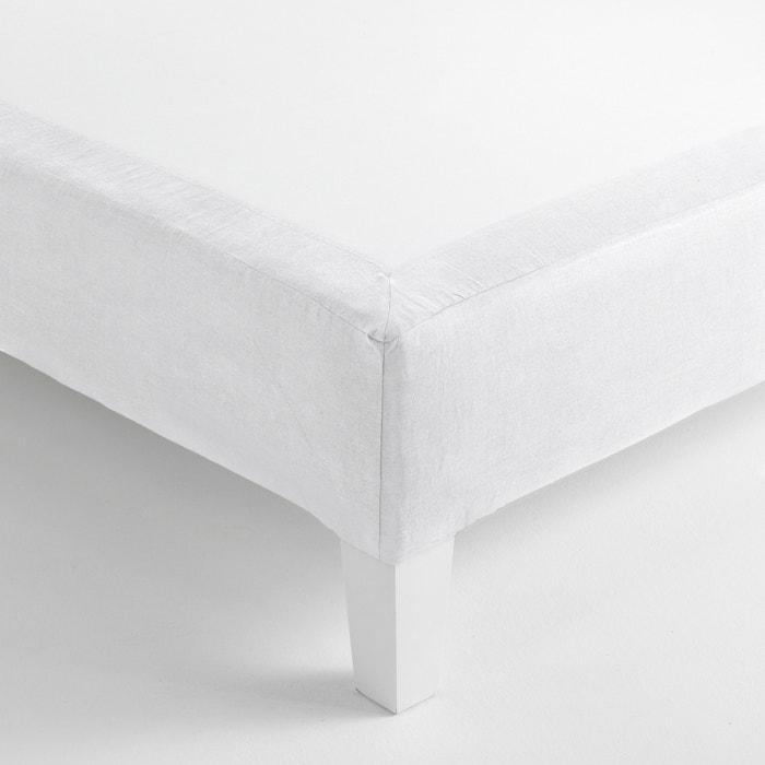 Image Cache-sommier forme housse, Gram, lin lavé/coton AM.PM.