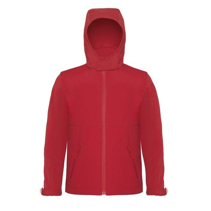 Veste capuche rouge Fashion Cuir   La Redoute 09ca1b151f6a